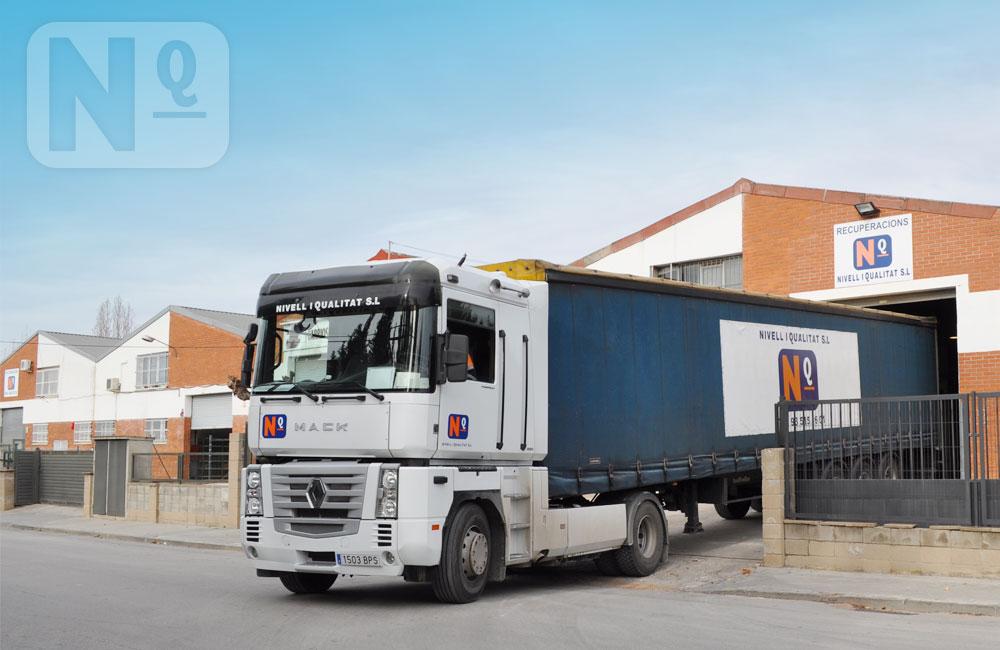 Servei de transporte de residus